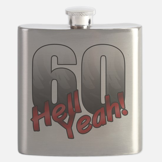 Unique Over hill Flask