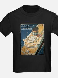 Vintage poster - Cruise ship T-Shirt