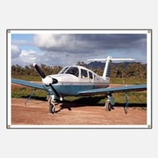 Low wing aircraft, Outback Australia 3 Banner