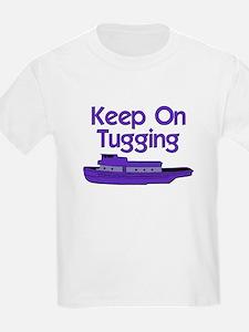 Purple Tug Boat T-Shirt