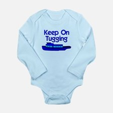 Blue Tugboat Body Suit