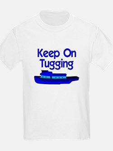 Blue Tugboat T-Shirt