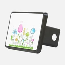Spring Flowers Hitch Cover