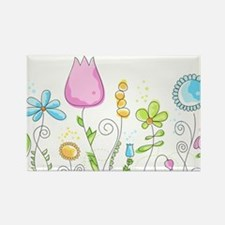 Spring Flowers Magnets