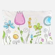 Spring Flowers Pillow Case