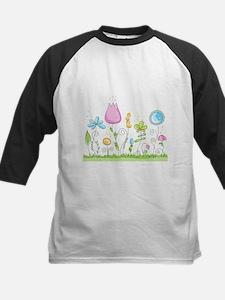 Spring Flowers Baseball Jersey