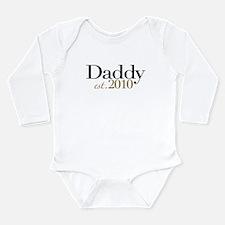 Cute Est 2010 Long Sleeve Infant Bodysuit