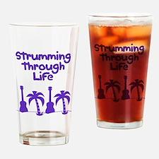 Ukulele Uke Drinking Glass