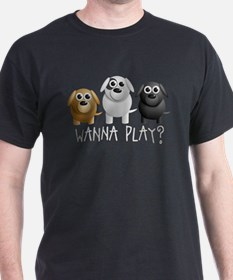 little dogs - wanna play? T-Shirt