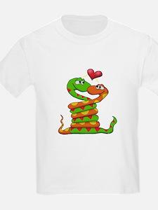 Snake Love valentine T-Shirt