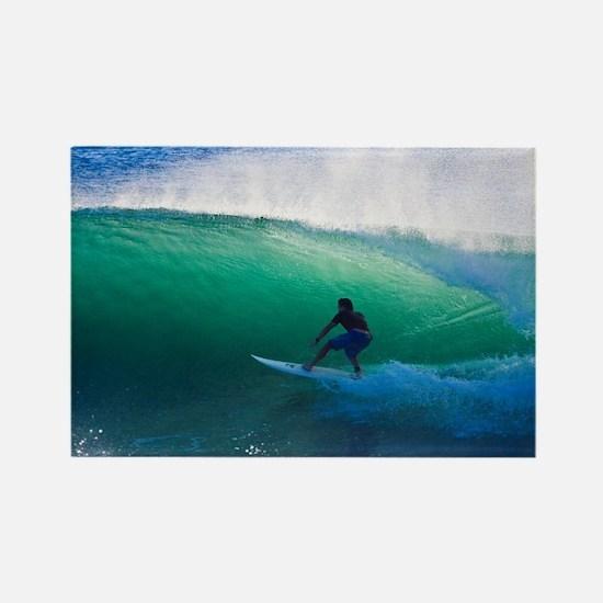 Unique Surfer Rectangle Magnet