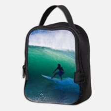 Surfing The Tube Neoprene Lunch Bag