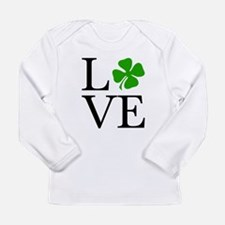 Cute Irish love Long Sleeve Infant T-Shirt