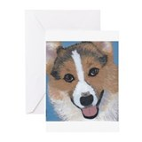 Corgi Greeting Cards