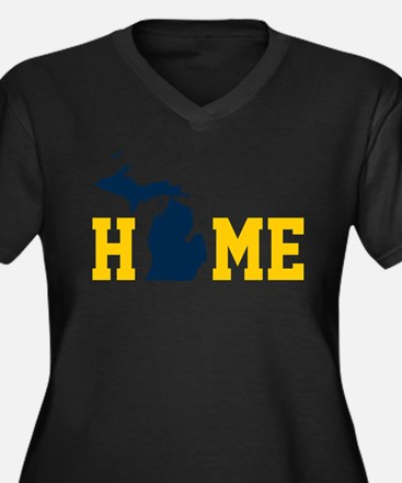 HOME - MI Plus Size T-Shirt