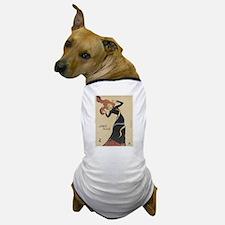 Vintage poster - Jane Avril Dog T-Shirt