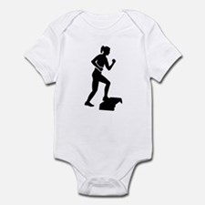 Step aerobics Infant Bodysuit