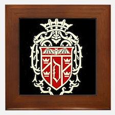 Arms Of Dracula Framed Tile