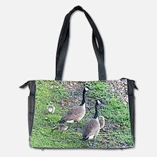 Family of Geese Diaper Bag