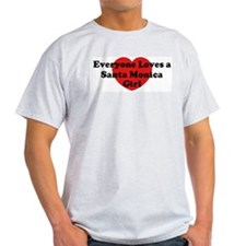 Santa Monica girl T-Shirt