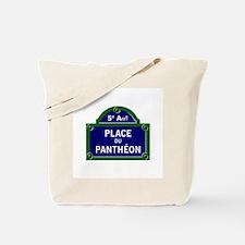 Place du Panthéon, Paris - France Tote Bag