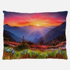 High Country Sunset Dog Bed