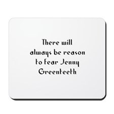 There will always be reason t Mousepad