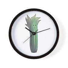 Funny Fruits vegetables Wall Clock