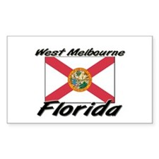 West Melbourne Florida Rectangle Decal