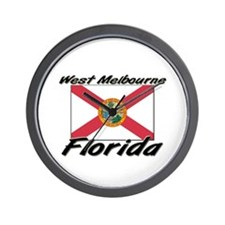 West Melbourne Florida Wall Clock