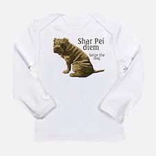 Unique Sharpei Long Sleeve Infant T-Shirt
