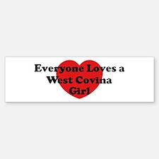 West Covina girl Bumper Bumper Bumper Sticker