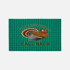 Turkey Call Area Rug