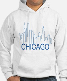Chicago Blue Line Hoodie