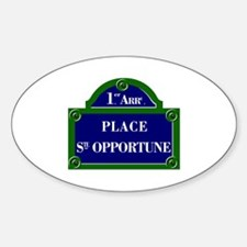 Place Ste. Opportune, Paris - France Decal