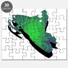 Unique Snowmobile Puzzle