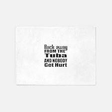 Tuba and nobody get hurt 5'x7'Area Rug