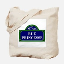 Rue Princesse, Paris - France Tote Bag