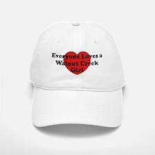 Walnut Creek girl Baseball Baseball Cap