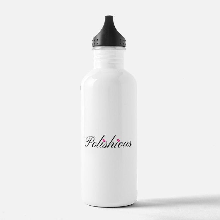 Cute Polish wife Water Bottle