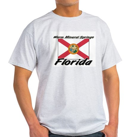 Warm Mineral Springs Florida Light T-Shirt