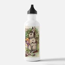 Cute Vintage bunny Water Bottle