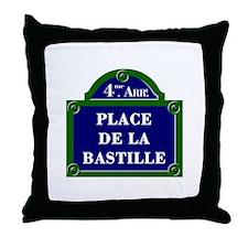 Place de la Bastille, Paris - France Throw Pillow