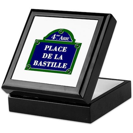 Place de la Bastille, Paris - France Keepsake Box