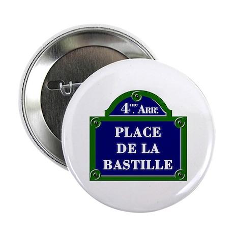 Place de la Bastille, Paris - France Button