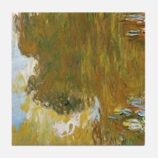 Cute French impressionism Tile Coaster
