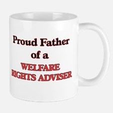 Proud Father of a Welfare Rights Adviser Mugs
