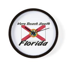 Vero Beach South Florida Wall Clock