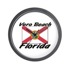 Vero Beach Florida Wall Clock