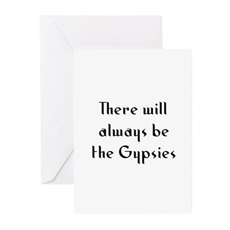 There will always be the Gyps Greeting Cards (Pk o